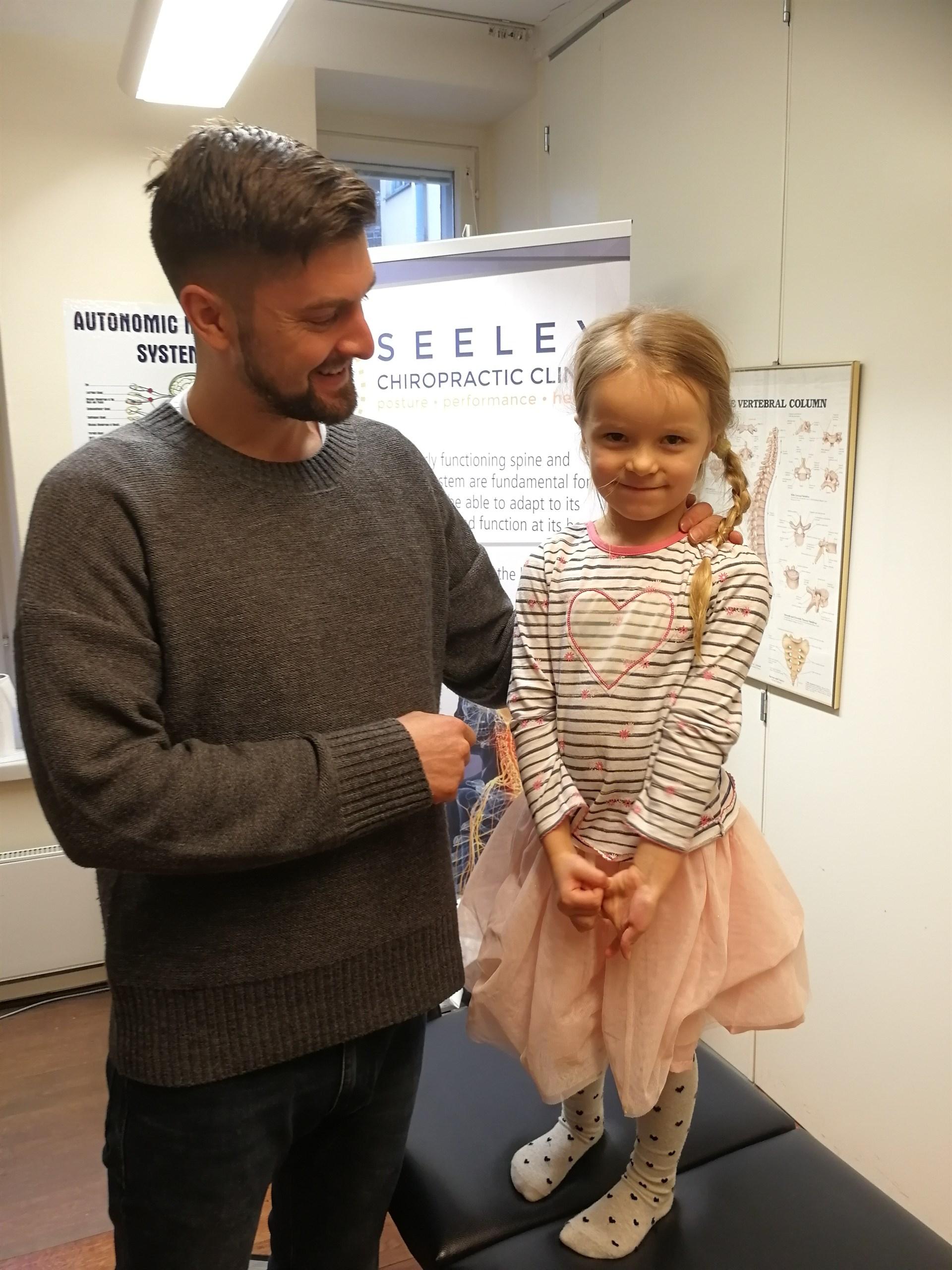 Kiropraktikko lapselle Jack Seeley