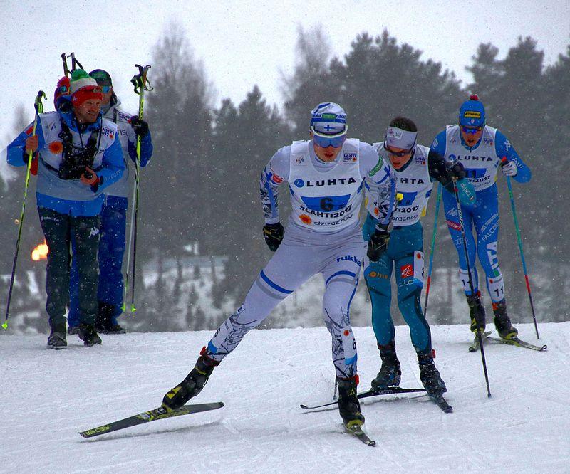 Olympiaurheilija Hannu Manninen