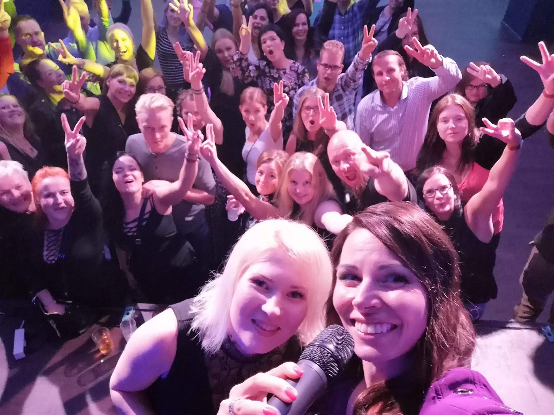 IBD rock selfie