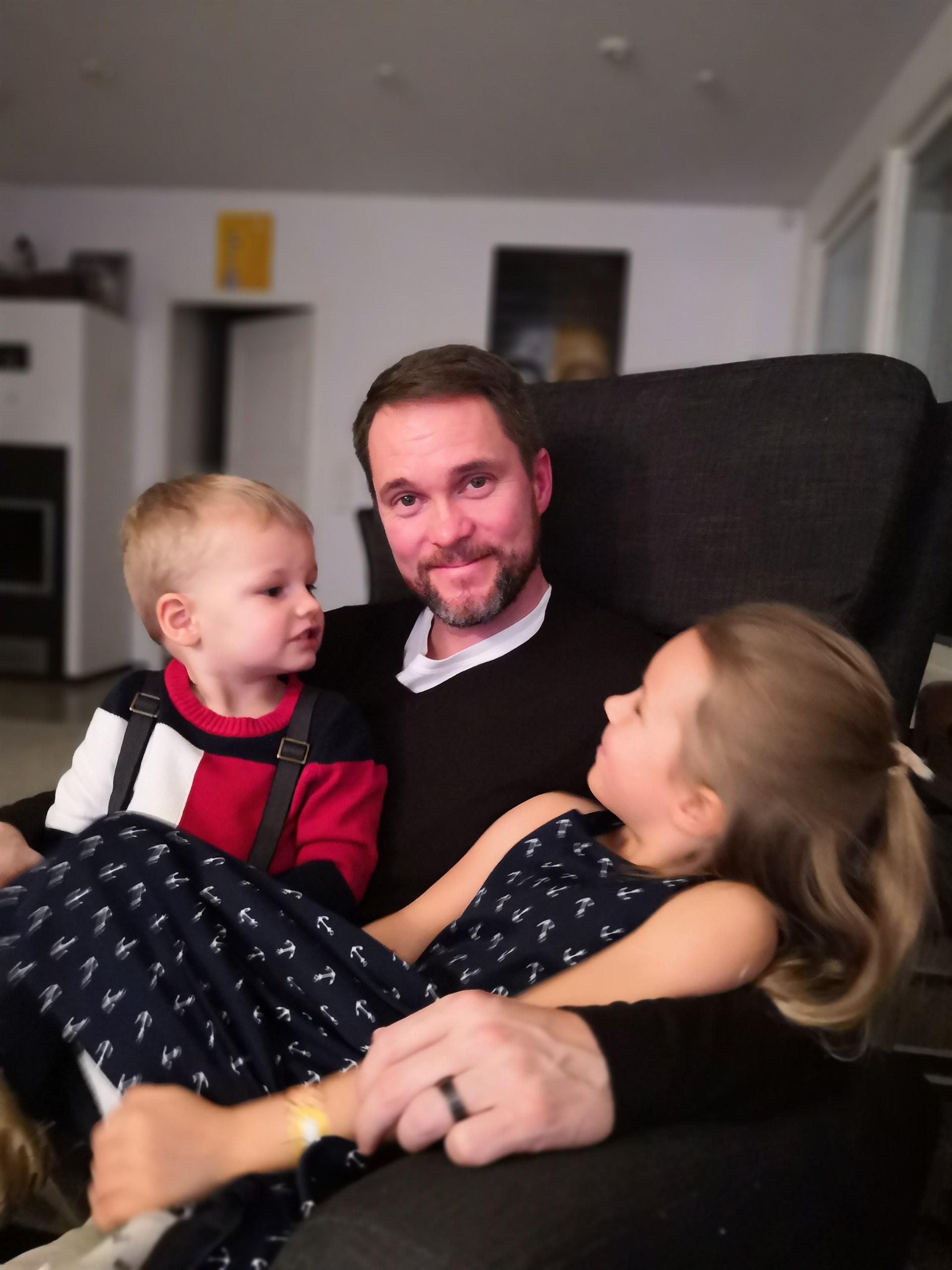 isä ja lapset