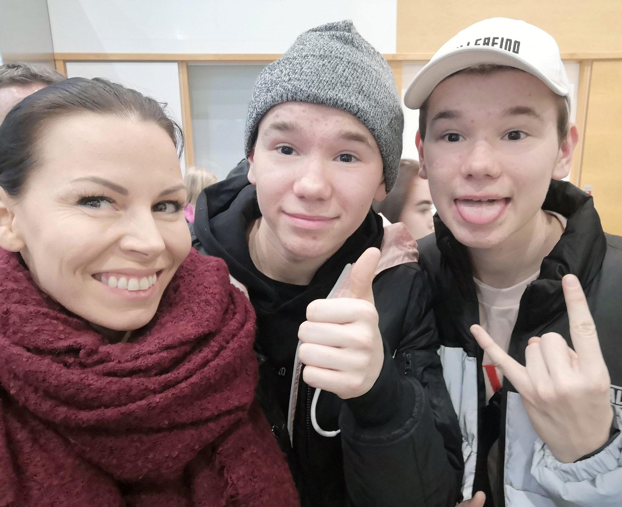 Äiti, Marcus & Martinus