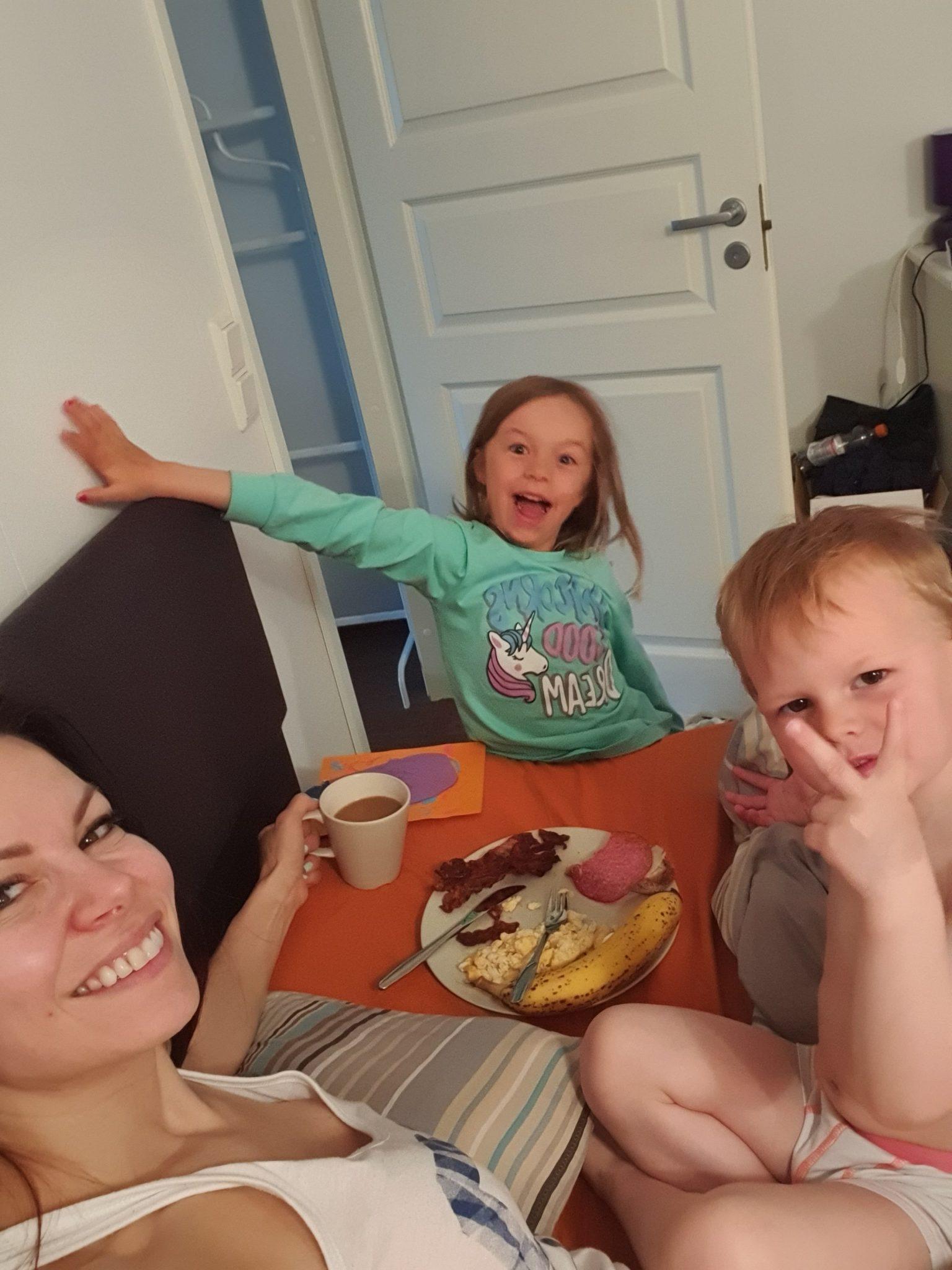 Mila ja Mio aamupala
