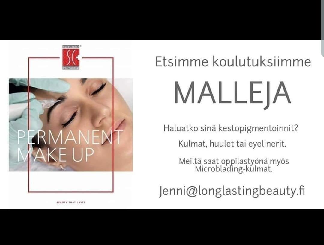 kestopigmentointi long lasting beauty malli